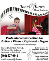 Guitar. Piano Lessons