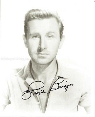 LLOYD BRIDGES - PHOTOGRAPH SIGNED