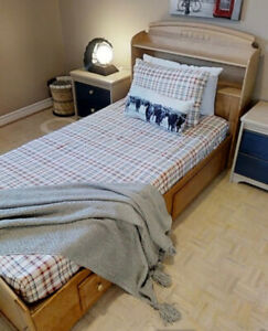 Single Bed set- (3 pcs) - $75