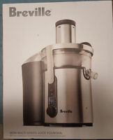 Breville Ikon Juice Fountain Juicer With Box