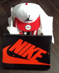 New Size 8 Woman Fake Jordan Shoes And Hat