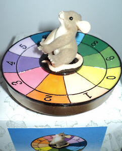 FITZ & FLOYD CHARMING TAILS MEMBER ONLY GAME WITH FIGURINE -NEW Cornwall Ontario image 8