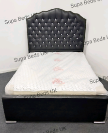 💎🇬🇧BED SALE🇬🇧💎 NEW QUALITY DIAMANTE BEDS 4FT6 DOUBLE, FREE DELIV