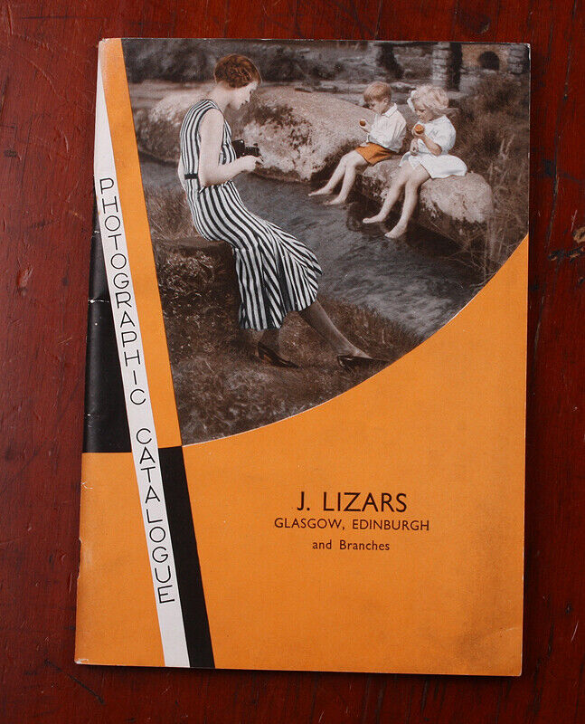 KODAK LTD 1933 PRODUCT CATALOG (WATER STAINS)/cks/215215