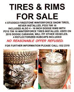 Tires & rims for sale St. John's Newfoundland image 1