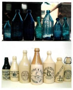 WANTED - Bottles Dug up at Excavations or Construction Jobs