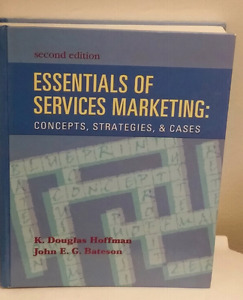 Essentials of Services Marketing Textbook