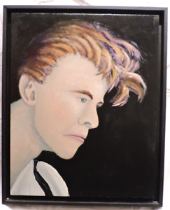 David Bowie Oil Painting Portrait