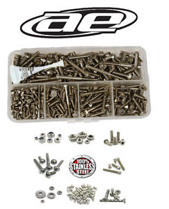 ☆ ASSOCIATED TEAM RC ◘ STAINLESS STEEL SCREW KIT ◘ ALL MODELS ☆