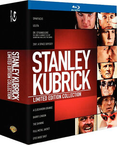 Stanley Kubrick Limited Edition Collection - 10 Blu-ray RARE