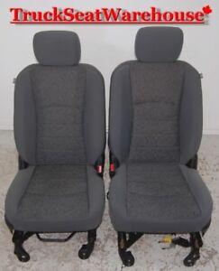Dodge Ram Truck 2013 Grey Cloth Power Front Seats