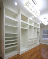 -----BUILT-INS, CABINETS, CROWN MOULDING & MORE-----