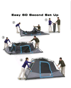 Ozark 6 Person Dark Rest Tent