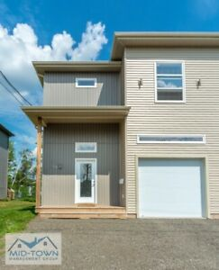 New Construction 3 Bedroom Duplex in Moncton WITH GARAGE!
