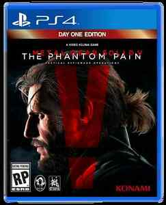 Metal Gear Solid 5- Day One Edition & Fallout 4 PS4