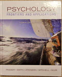 Psychology Frontiers and Applications 4th Ed.