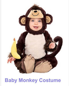 Adorable Baby Monkey Costume!