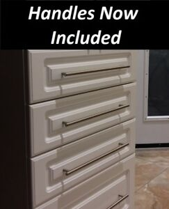 New NOT used white kitchen cabinets, High quality,  12ft $1557