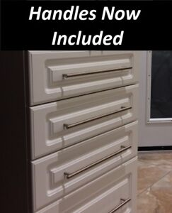 New Not Used white kitchen cabinets, 14 ft $1735