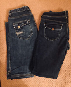 Skinny jeans/ pants, 4 pairs, $10 takes all