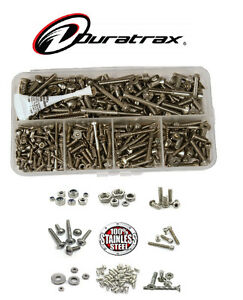 ☆ DURATRAX RC CARS ◘ STAINLESS STEEL SCREW KIT ◘ ALL MODELS ☆
