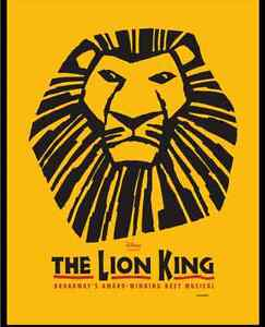 Wanted: Feb Lion King ticket(s)