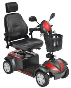 NEW INBOX Drive Medical Ventura Power Mobility Scooter, 4 Wheels
