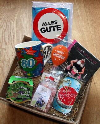 80 Geburtstagsgeschenk Geschenkkorb Geschenke Ideen 80er Geburtstag Mann Opa
