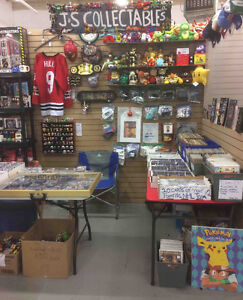 J & S Collectables now OPEN at Gibraltar Weekend Trade Market!