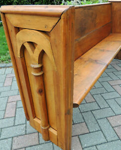 Church Pew. Early Pioneer piece