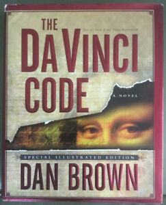 "DA VINCI CODE Special Illustrated Ed Hardcover 8.5x10"" Dan Brown"