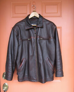 ORVIETO Leather Vintage Jacket