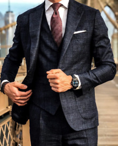 CUSTOM-MADE MEN'S SUITS