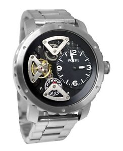 Fossil Skeleton Type SS Wrist Watch - Consider New