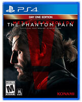 Metal Gear Solid 5 The Phantom Pain PS4 - New