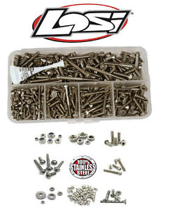 ☆ TEAM LOSI RC CARS ◘ STAINLESS STEEL SCREW KIT ◘ ALL MODELS ☆