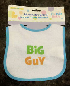 Big Guy Bib - New In Package