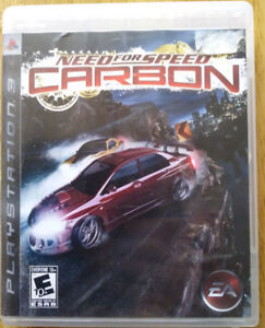 PS3 Games (3) used very little $30.00