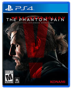METAL GEAR SOLID 5 THE PHANTOM PAIN PS4 NEUF