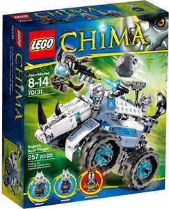 LEGO CHIMA 70131 Rogon's Rock Flinger Brand New Sealed in Box