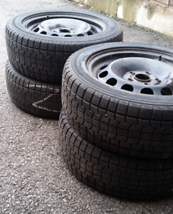*SNOW TIRES* Volkswagen Jetta Winter Tires and Rims* 205/55 R16