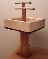 HAND-CRAFTED PARROT STANDS ~ $25 - $30 - $40