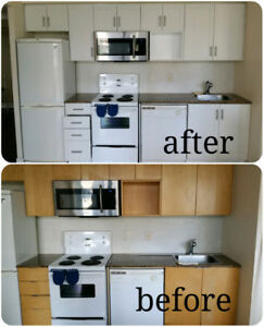 10X10 KITCHEN CABINET REFACE FROM $1450