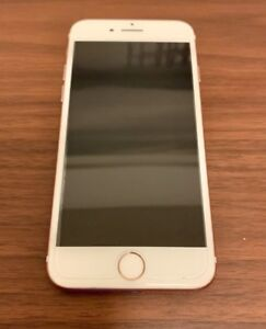iPhone 7 128 GB Rose Gold - Unlocked w/ Glass Screen Protector