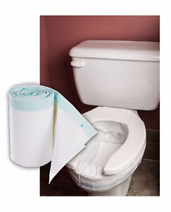 Toilet Bags with Super-Absorbent Pads - HYGIENIC.COM