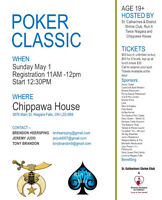 St.Catharines Shriner's Club Charity Poker Classic