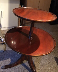 Vintage Two-Tiered Table
