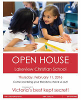 Lakeview Christian School Openhouse