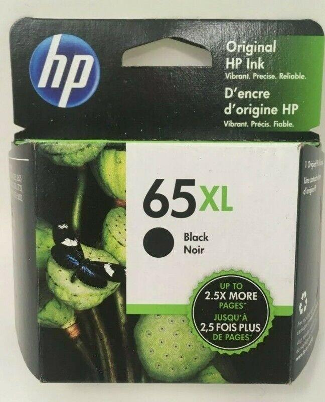 Brand New HP - 65XL High-Yield Ink Cartridge- Black- Free Shipping Exp 2023
