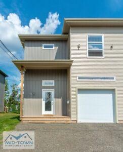 New Construction 3 Bedroom Duplex in Moncton WITH GARAGE!